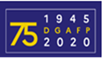 Logo anniversaire 75 ans DGAFP