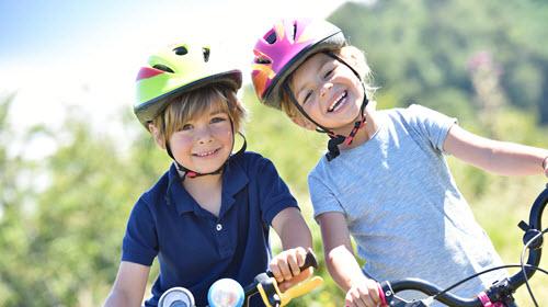 Vélo : casque obligatoire pour les enfants de moins de 12 ans